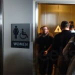 WWDC Apple's Annual Development Conference held in San Fransisco. Mens Bathroom line. I hope you boys wash your hands…