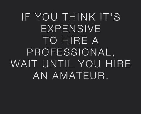 the value of professional services